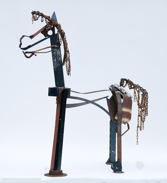 Contemporary Horse sculpture