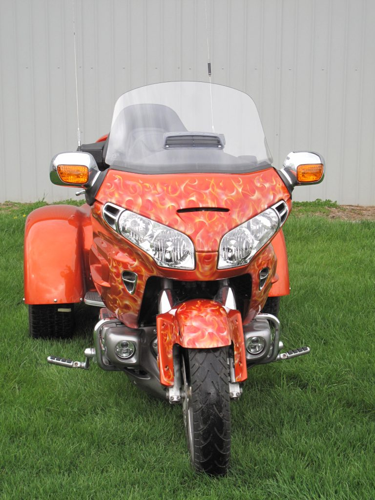 Honda Goldwing Airbrushed