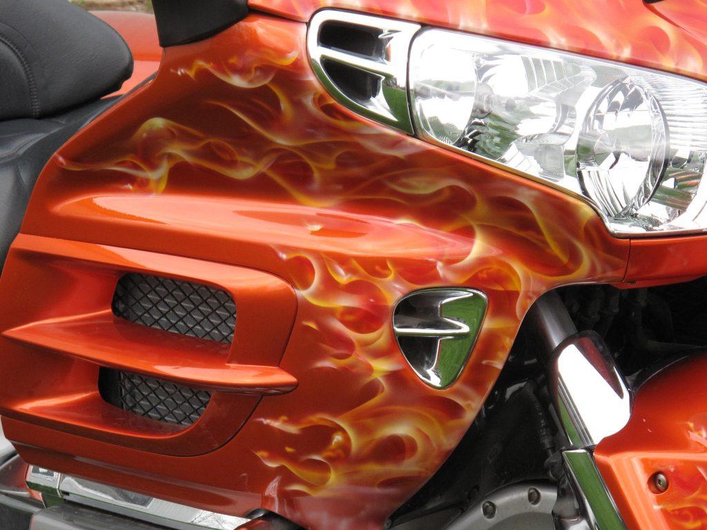 Flames Paint
