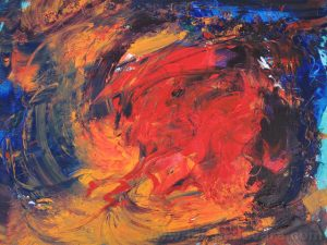 aBSTRACT pAINTING, Interior