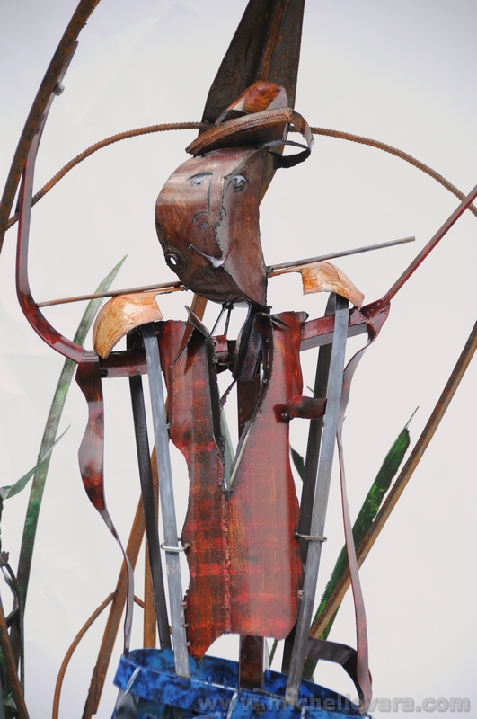 Museum sculpture by michelle vara