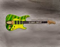 Vara- Airbrushed guitar