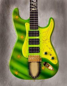 Vara- Airbrushed guitar