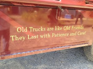 1951 Mack with hand lettering in Gold
