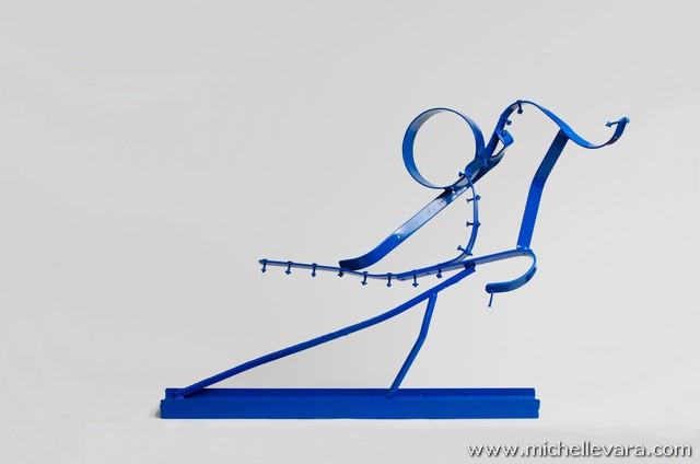 metal sculpture, reclaimed, re purposed art, sculpture, Jersey shore, Ocean, metal sculpture, Storm sandy, art,