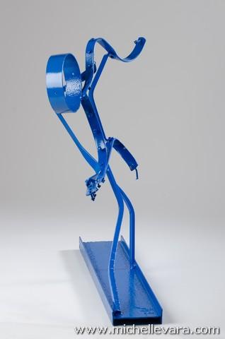 Ocean, metal sculpture, Storm sandy, art,