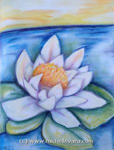 Artist miChelle Vara uses pastel to create WildFlowers