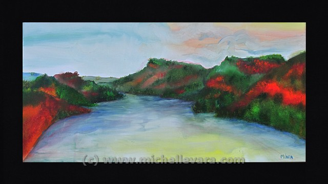 oil paint on canvas, Cooperstown NY, landscape plein air paintings