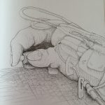 Drawing, hand, Ohio, Cleveland clinic, Michelle vara, Ballard rd art studio, artist , medical art