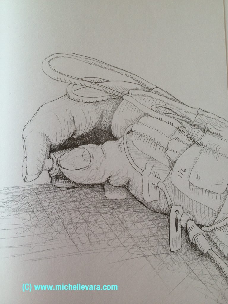 Drawing, hand, Ohio, Cleveland clinic, Michelle vara, Ballard rd art studio, artist , medical art