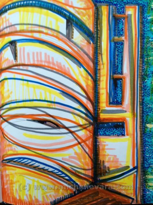 miChelle Vara.com; famous artist, sculpture, ballard road art studio, metal sculpture, lettering, airbrush, welding, cleveland clinic OH,