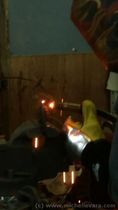 Ballard Road Art Studio, C&C specialty Iron, restoration fabrication, Art, sculpture