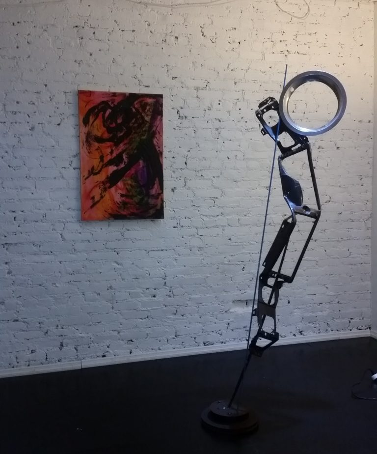 art show NYC, michelle vara,Place des arts ' NYc 2016