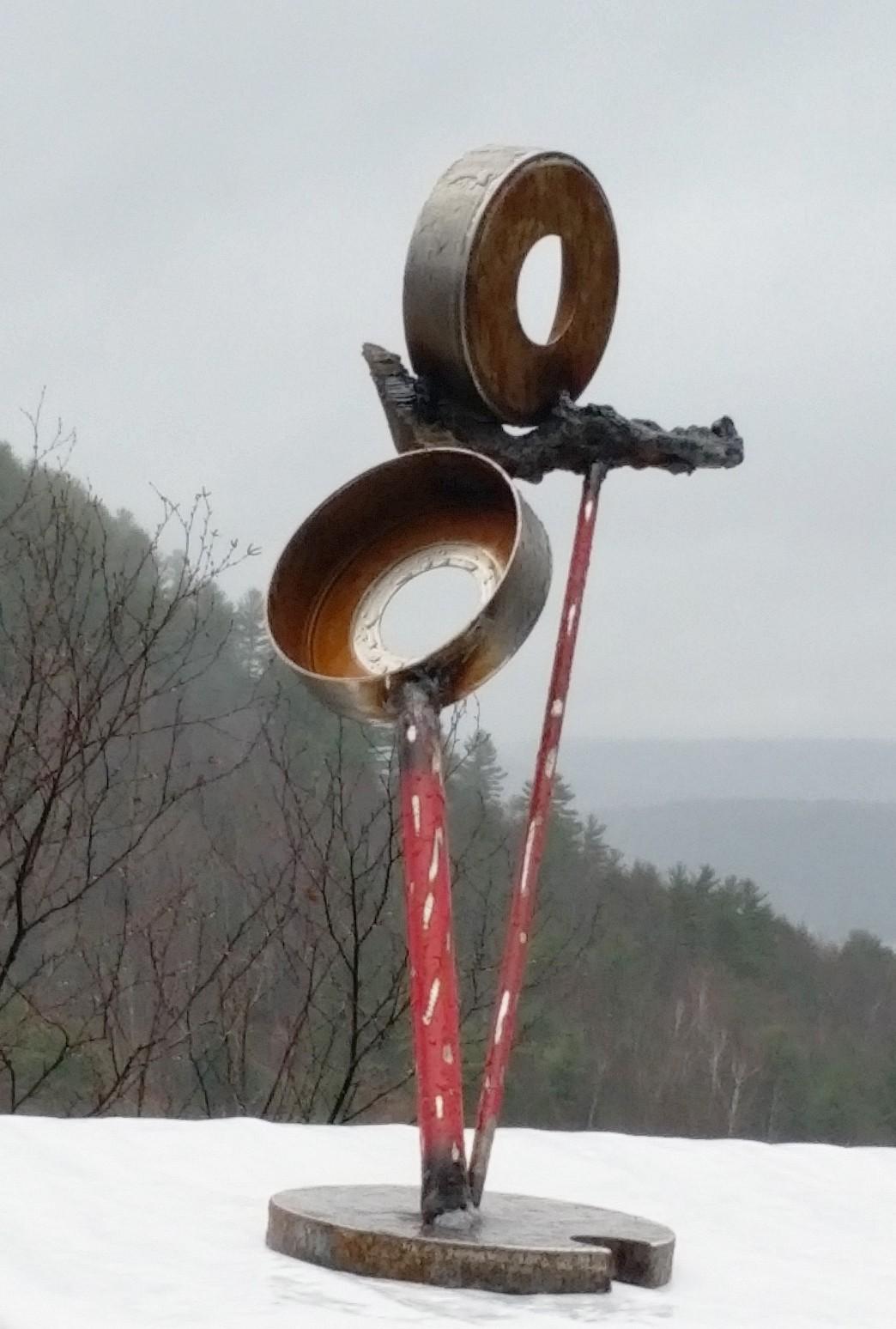 -133. metal sculpture