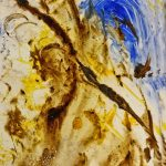 Tar Paintings, Abstract Expression,