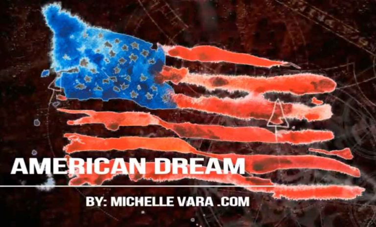 american dream video art by Michelle Vara