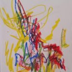 Automatic drawings Evidence Dance Co. at Saratoga Springs Dance