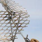 257. Traumatic Stress metal sculpture, recycled art, Junk art