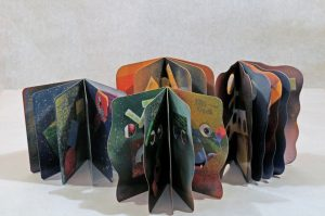 Five Books of Joy creating a painterly Geometry.