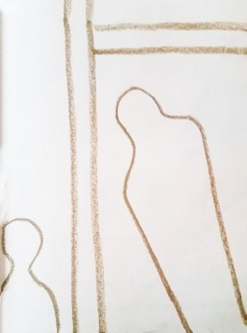 2-15-18 -16 Oil Pastel on paper.