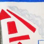 2-15-18 -28 Oil pastel on paper.