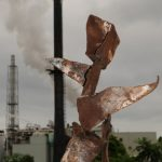 Metal Sculpture No.639 Torn