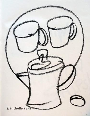 Morning - Drawing