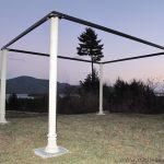 pergola steel posts