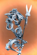 The piece is a conversation in metal about the evolution of soul from one level in life to another.