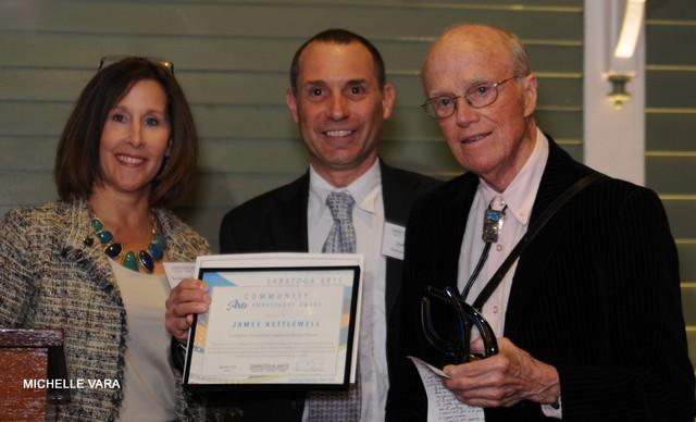 Saratoga Arts' Annual Soirée- Award Ceremony - James Kettlewell