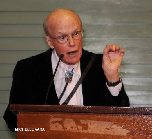 Saratoga Arts' Annual Soirée- James Kettlewell speech.