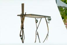 No. F65_ Pas de Trois, Functional art table dancers