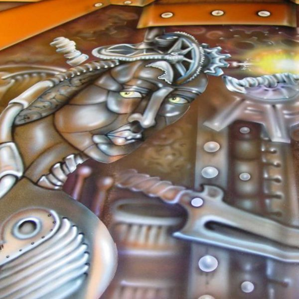 Airbrush art gallery by Michelle Vara