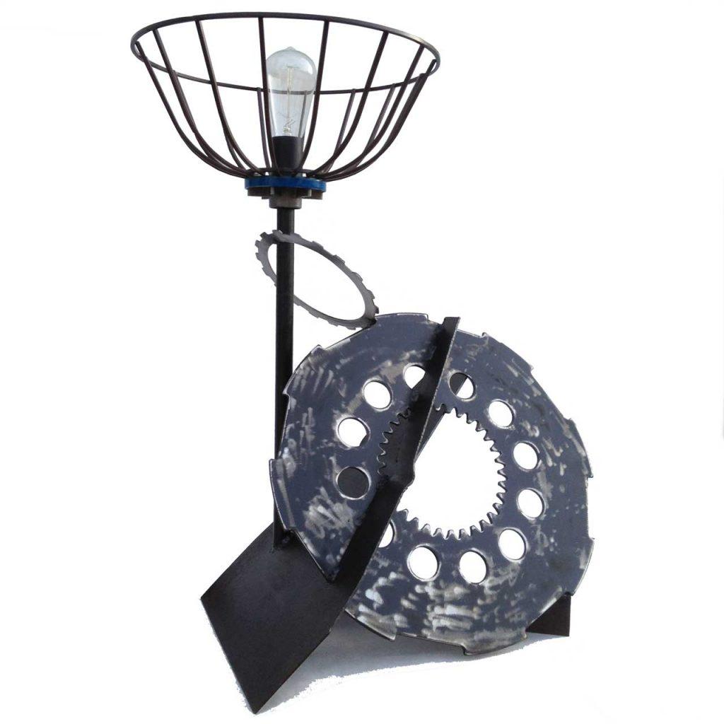Lamp, Industrial, Functional Art by Michelle Vara