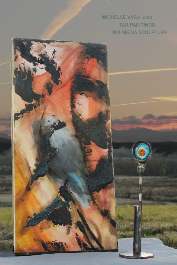 No.1218_20 Tar Painting & Sculpture No.139. Minds Eye