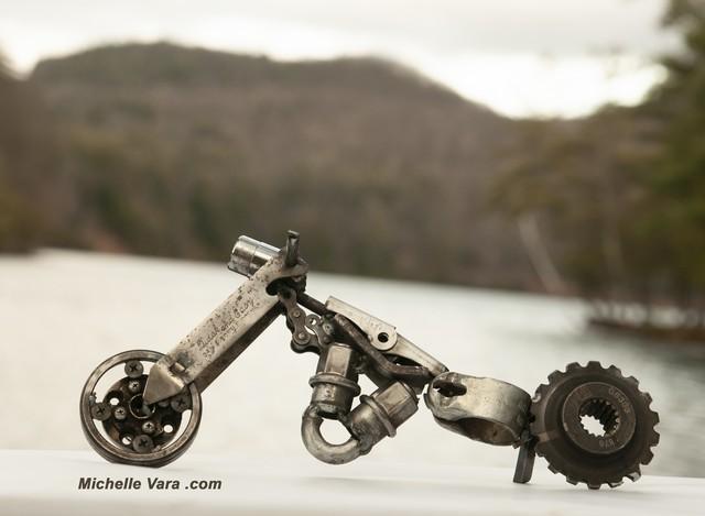 Motorcycle Sculpture,