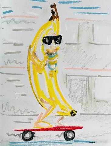 The Fort Ann New York Banana